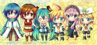 Group of Vocaloids